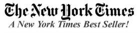NYTimes Best Seller 279x66