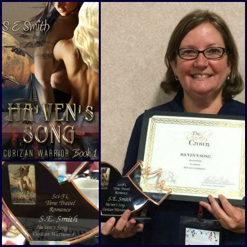 RomCon Readers' Crown Winner Sci-Fi Time Travel Romance for Ha'ven's Song
