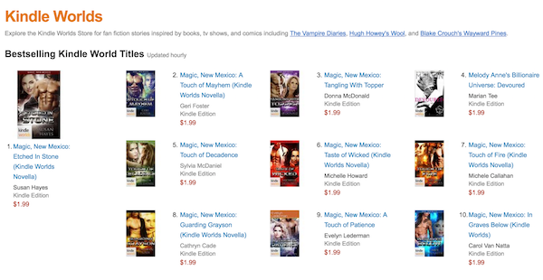 Magic New Mexico Kindle World Top 10