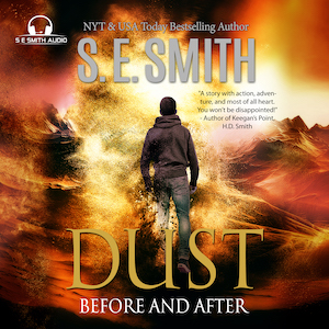 Dust is out now in audiobook