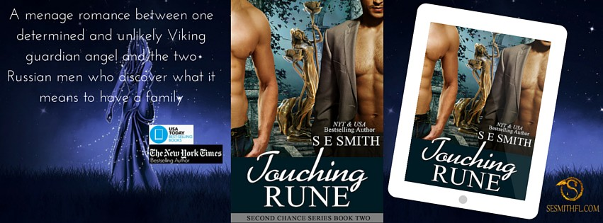Touching Rune - SE Smith - FB Cover