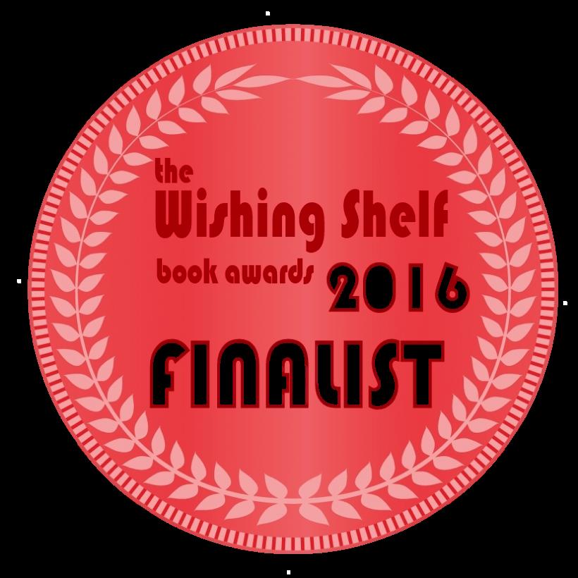 The Wishing Shelf Finalist Logo