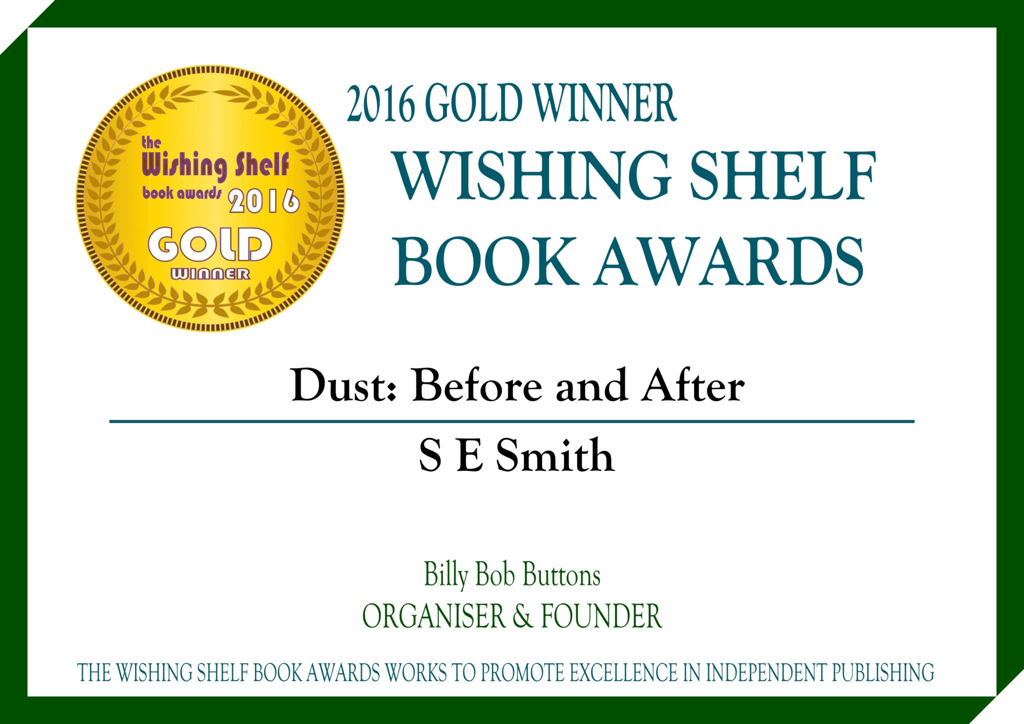 Dust The Wishing Shelf Book Awards 2016