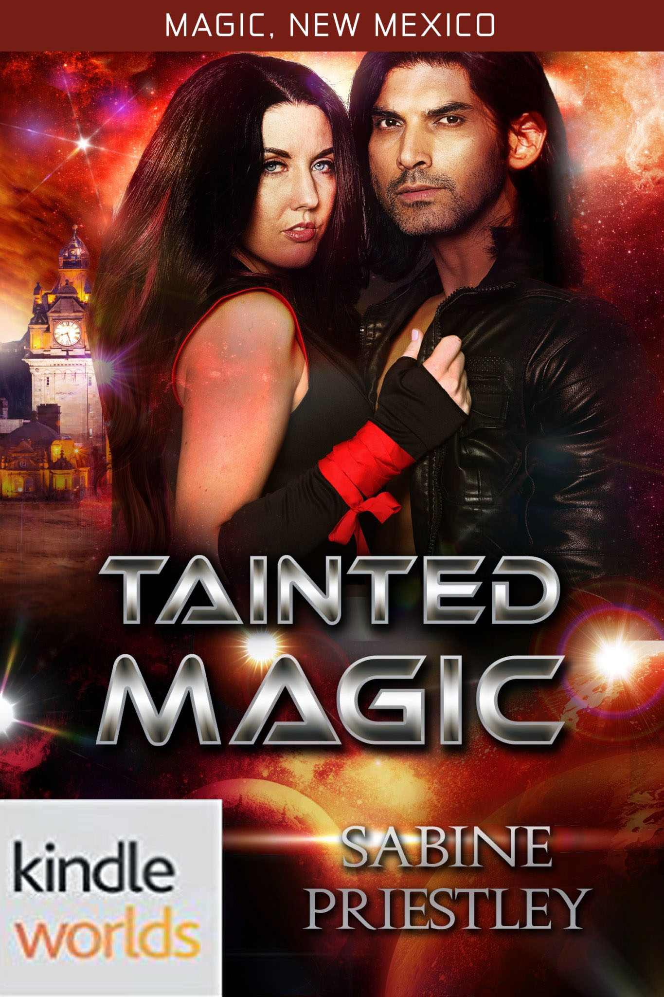 Tainted Magic by Sabine Priestley KW