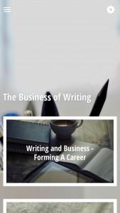 ScreenShot The Business of Writing