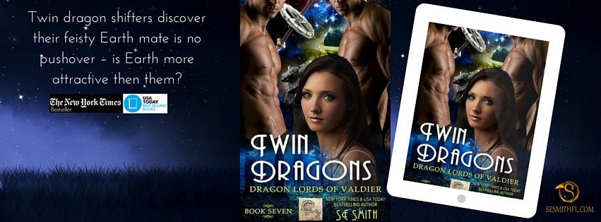 Twin Dragons - SE Smith - FB Cover