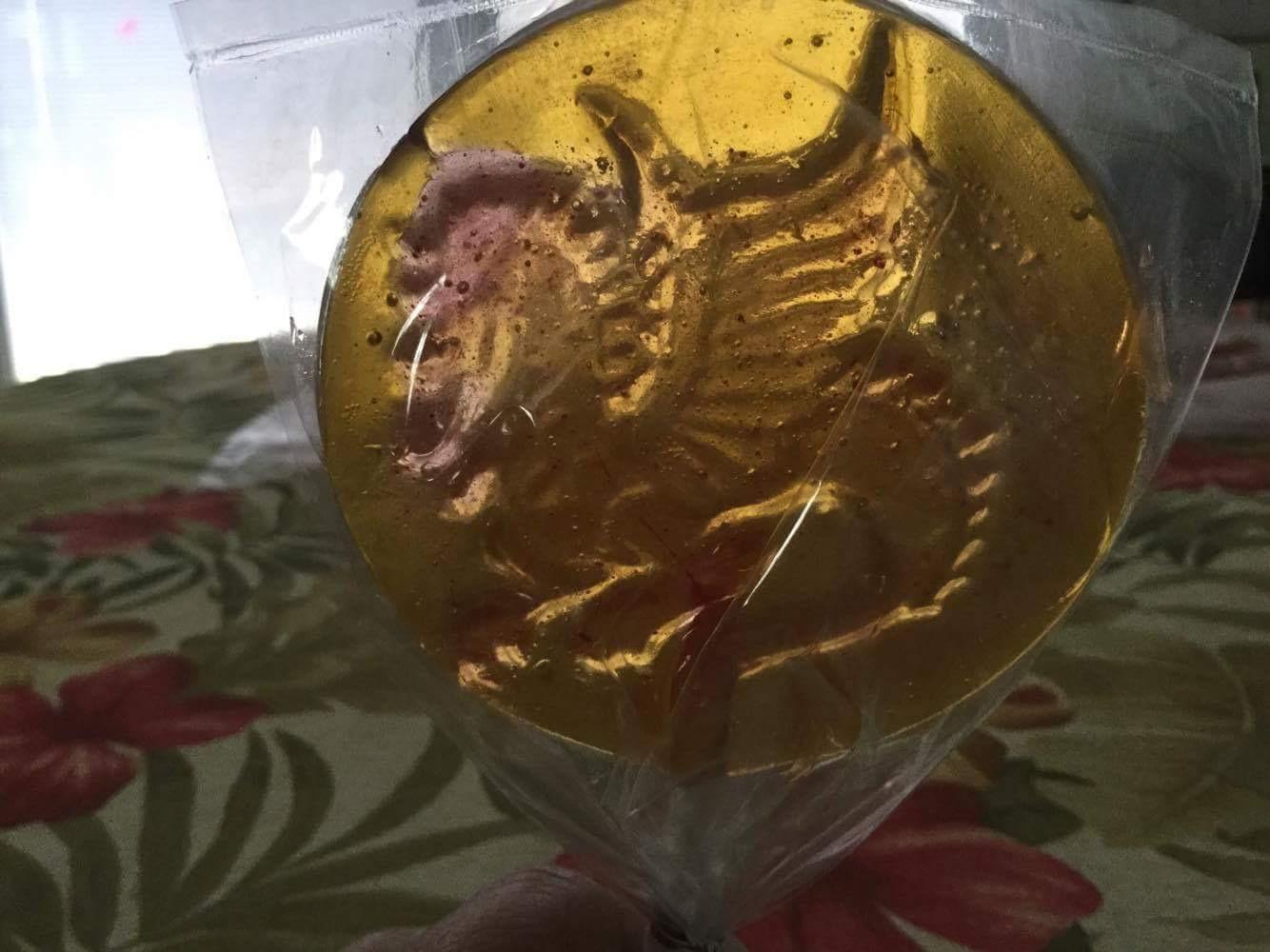 dragon lollipops