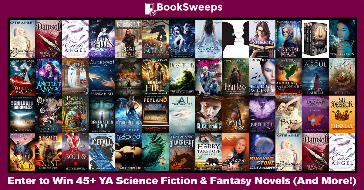 I have a fun surprise that I'd like to share with you. I've teamed up with  more than 45 fantastic young adult science fiction & fantasy authors to  give away ...